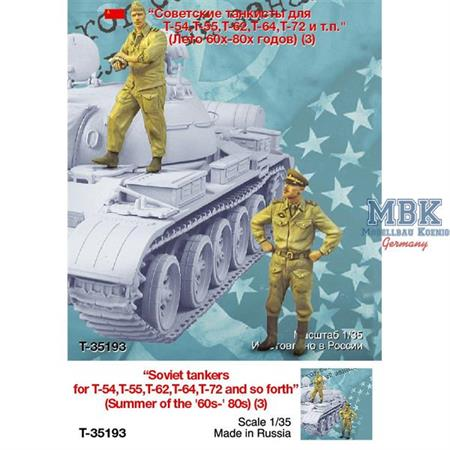 The Iron Curtain Soviet Tank Crew 2 Fig.
