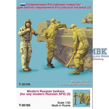 Modern Russian Tank Crew  T72,80,90 etc