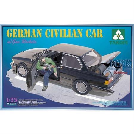 German Civilian Car (BMW 3er E21) w/ gas-rockets