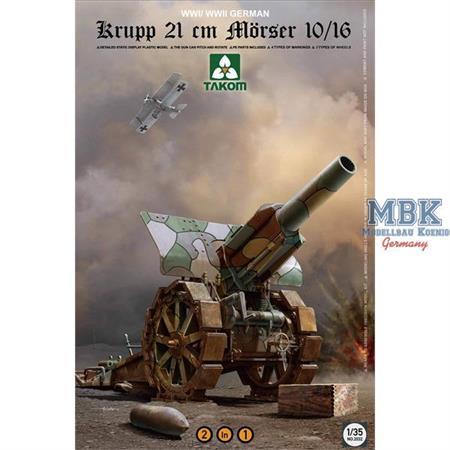 Krupp 21 cm Mörser 10/16 2in1
