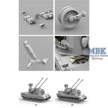 """Bundeswehr Flakpanzer """"Gepard""""  A1/A2  2 in 1"""