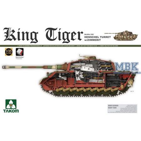 King Tiger Henschel w/Zimmerit, Interior