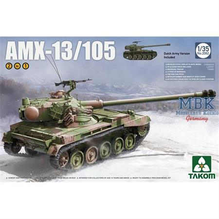 French Light Tank AMX-13/105 2 in 1
