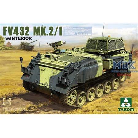 British APC FV432 Mk.2/1 mit Interior