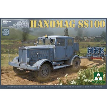 German Tractor Hanomag SS100