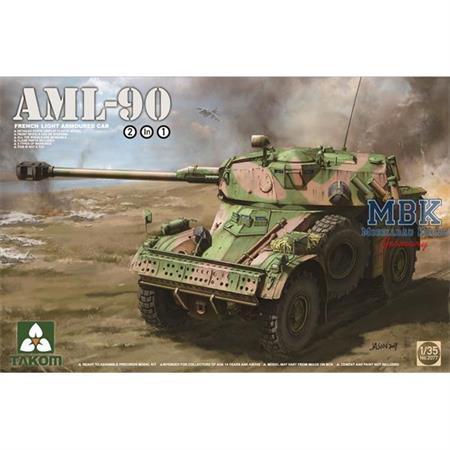 French Light Armoured Car AML-90