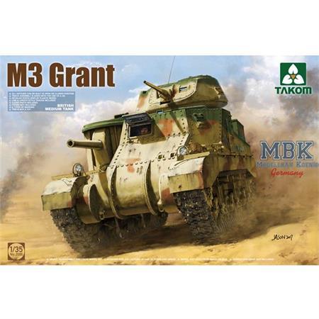 British Medium Tank M3 Grant