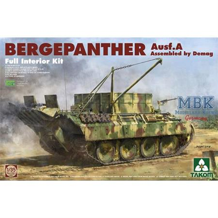 Bergepanther Ausf.A - DEMAG - full Interior
