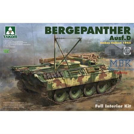 Bergepanther Ausf.D Umbau Seibert 1945 -Interior