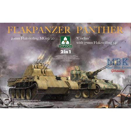 """Flakpanzer """"Coelian"""" oder 20mm Flakvierling  2in1"""