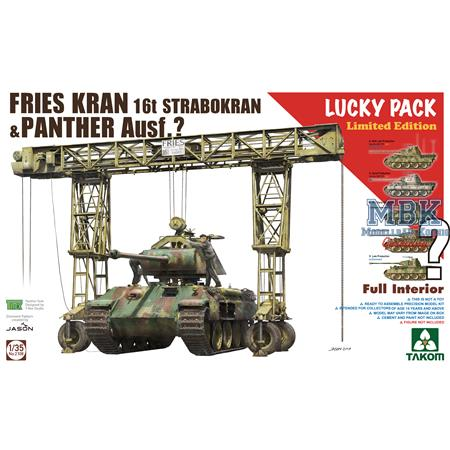 FRIES KRAN 16t Strabokran + Bonus Panther