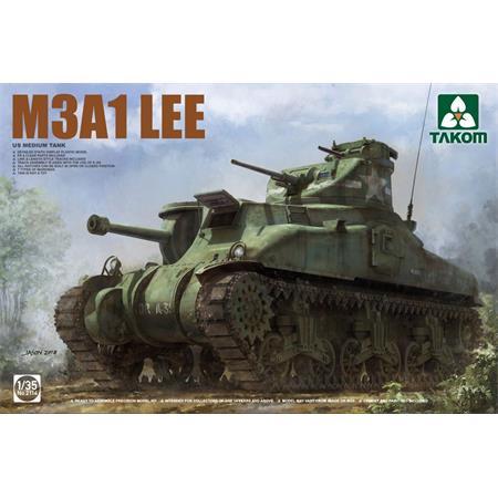 US MEDIUM TANK M3A1 LEE