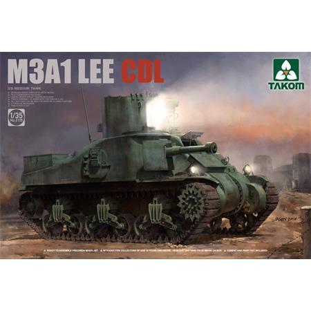 US MEDIUM TANK M3A1 LEE CDL