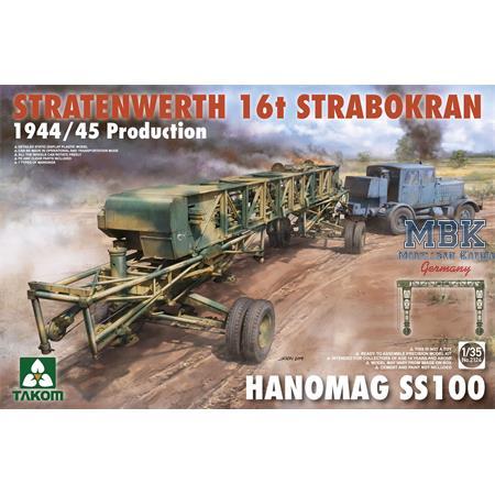 Stratenwerth 16t Strabokran 1944/45 + Hanomag