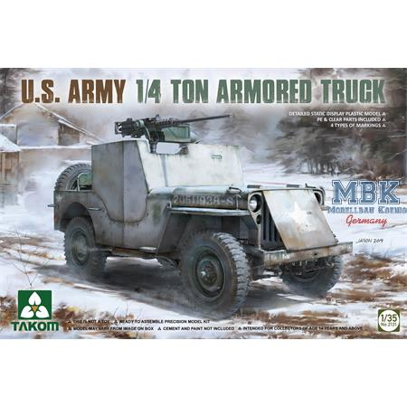 U.S. Army 1/4 ton Armored Truck (Jeep)