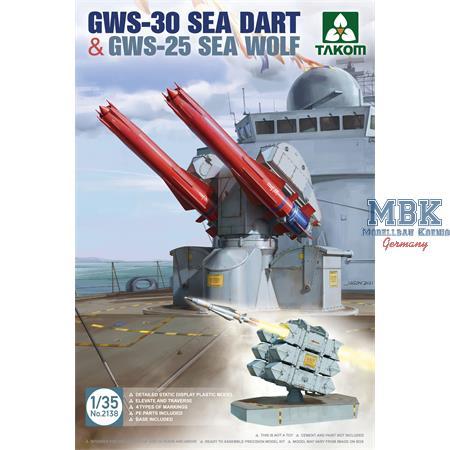 GWS-30 SEA DART & GWS-25 SEA WOLF