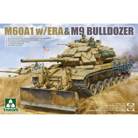 M60A1 w/ERA&M9 BULLDOZER