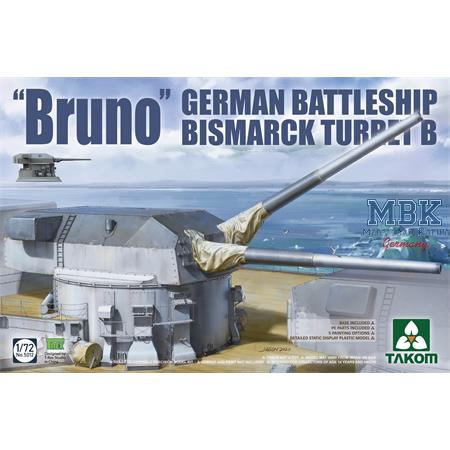 """Bruno"" German Battleship Bismarck Turret B"