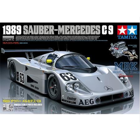 Sauber Mercedes C9 1989   1/24