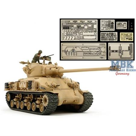 Israeli Tank M51 (w/Aber Photo-Etched Parts)
