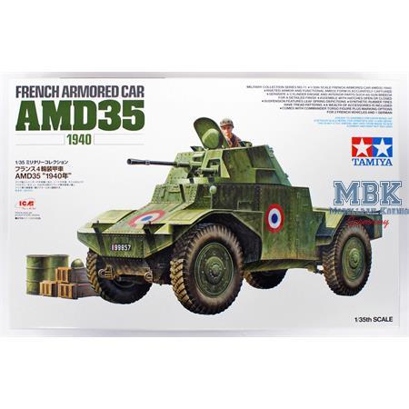 Französischer Panhard AMD35 Spähpz 1940