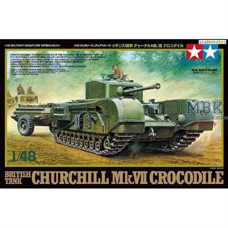 Churchill Mk. VII Crocodile 1/48