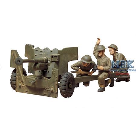 Britische 6 Pounder Anti Tank Gun limited Edition