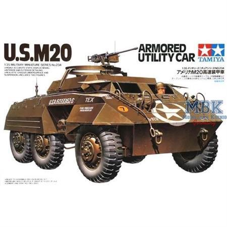 U.S. M20 Armored Utility Car