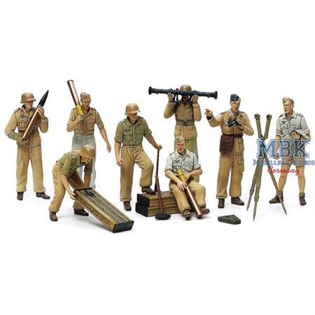 DAK Luftwaffen Artillerie Crew