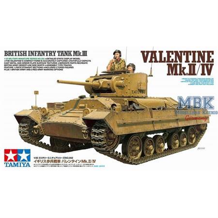 British Valentine Mk.II/IV