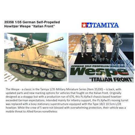Panzerhaubitze Wespe Italien