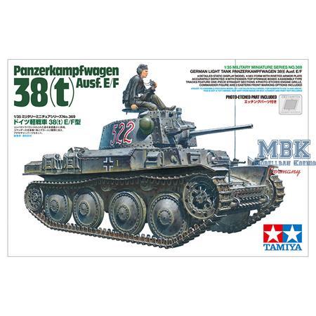 Panzerkampfwagen 38 (t) Ausf. E / F