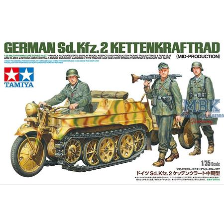 Sd.Kfz.2 Kettenkrad - mittlere Produktion