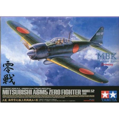 Mitsubishi A6M5 Zero Fighter 52