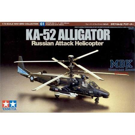 KA-52 Alligator Russian Attack Helicopter