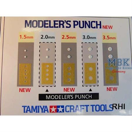 Stanze Rund 1,5mm - Modelers Punch