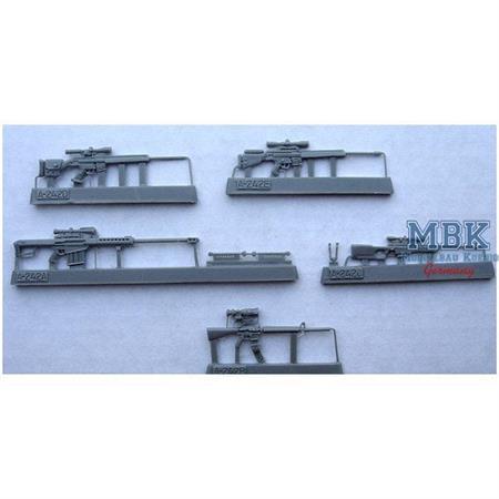 NATO modern sniper rifles family