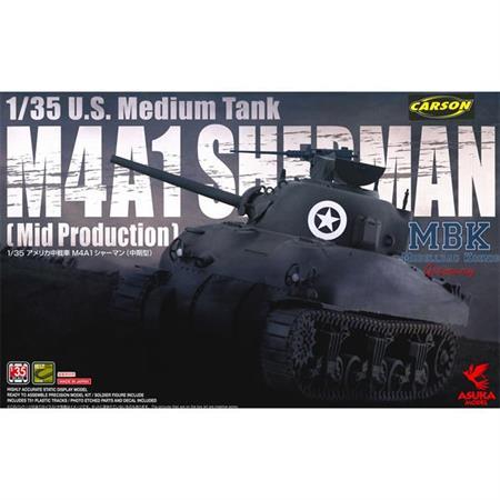 US Medium Tank M4A1 Sherman (mid Prod)