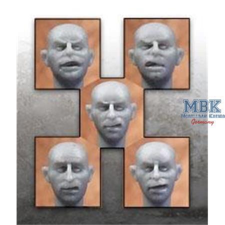 Heads ( 5x)