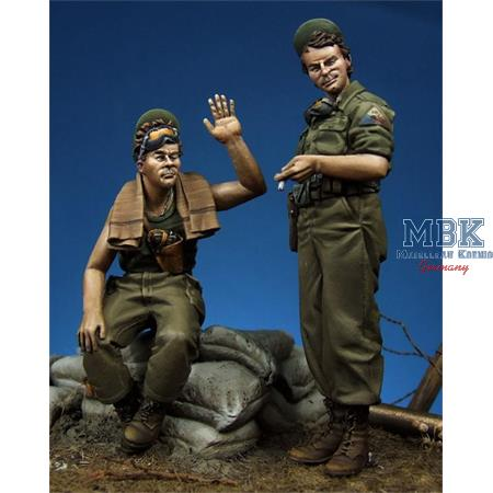"US Tank Crewmen Set ""Ciao Maria"""