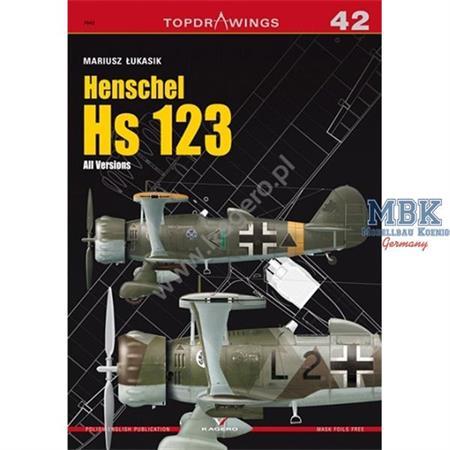 Kagero Top Drawings 42 Henschel Hs 123