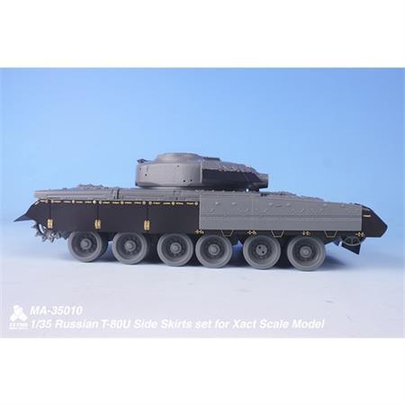 T-80U Side Skirts set (Xact Scale)