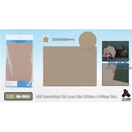 Camouflage Net (Tan) LARGE