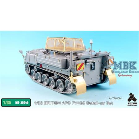 British APC FV432 Detail up set