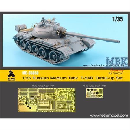 T-54B Russian Tank, late (Takom) Detail up Set