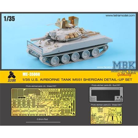 M551 Sheridan (Tamiya) Detail up Set