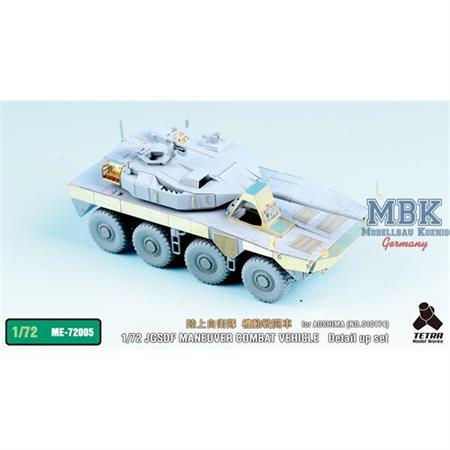 JGSDF MANEUVER COMBAT VEHICLE detail up set