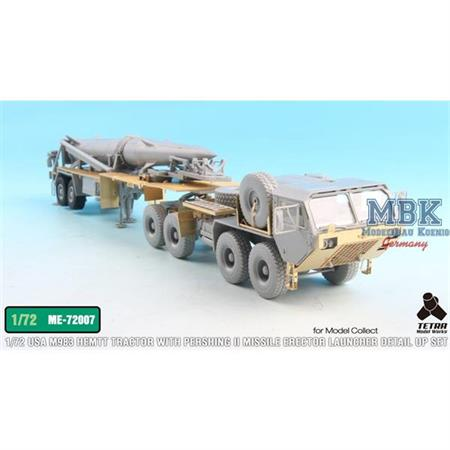 M983 Tractor w/Pershing II Missile detail up set