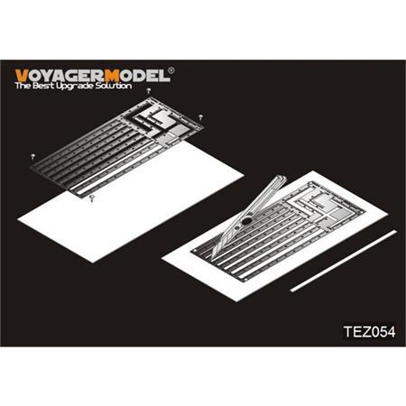 plastic stripe cutting template (GP)