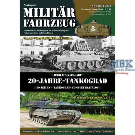 Tankograd MILITÄRFAHRZEUG 1-2018